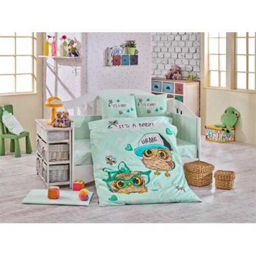 Hobby Cool Baby Mint Ranforce Bebek Uyku Seti