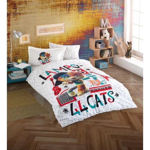 Hobby 44 Cats Style02 Tek Kişilik Lisanslı Nevresim Takımı